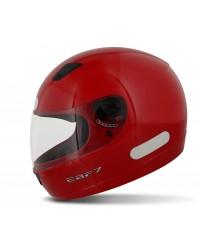 Capacete New EBF 7 Solid Vermelho