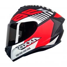 Capacete Axxis Draken Z96 Vermelho e Preto