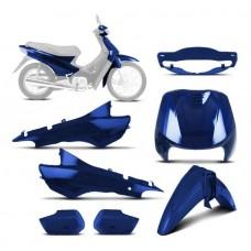 Kit Completo Biz 100 Azul Perolizado 2005 Sportive