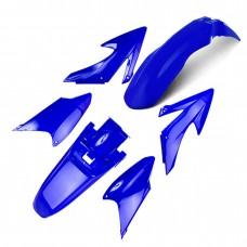 Kit Plástico CRF 230 2008 Azul Circuit