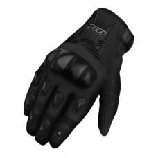 Luva Moto X11 Blackout Proteção Masculina Preto GG