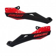 Protetor De Mão Preto e Vermelho Fenix Carbon Circuit