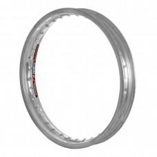 Aro Biz Traseiro 160X14 Alumínio Cromado Fosco Eninco