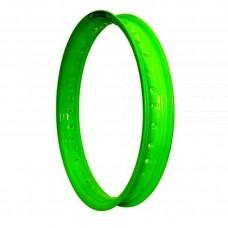 Aro Alumínio 2.50x 18 Verde Neon Fabreck