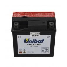 Bateria 5AH CBTX-5LBS Titan 2000/04 UNIBAT