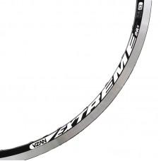 Aro Bike 26/36f Extrem Pro Preto Fosco V Brake Com Ilhoes