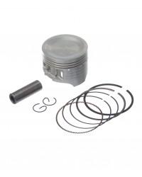 Pistão Kit Com Anel Kmp Biz 125 0.50