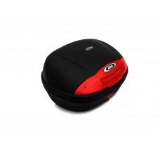 Bau Givi E450N Monolock Simply 45L Lente Vermelha