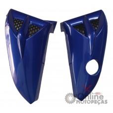 Aba Tanque YBR 125 Azul 2000 2001 e 2008 - Par - Melc
