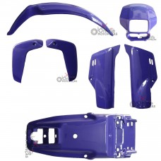 Kit Plástico XLR 125 1997 1998 Azul Paramotos