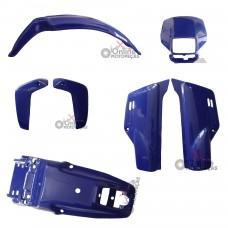 Kit Plástico XLR 125 2002 Azul Paramotos