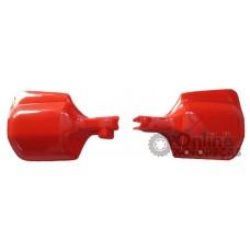 Protetor de Mão NX 150 XR 200 1995 a 1997 XLX 350 NX 350 Sahara 1994 Vermelho - Par - Sportive