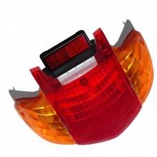 Lanterna Traseira Paramotos Biz 125 Vermelha Amarela