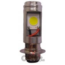 Lâmpada Farol M5 12Volts 6/12Watts C100 Biz C100 Dream C125 Biz NXR 150 Bros Mix Crypton Neo 6500K - LED - Torati