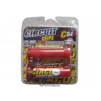 Manopla Cobra II Vermelha - Par - Circuit