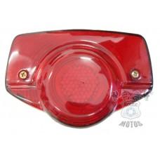 Lanterna Traseira CG 125 1977 a 1982 ML 125 1977 a 1982 Turuna Até 1982 Shireray A50 - Base Cromada - STLU